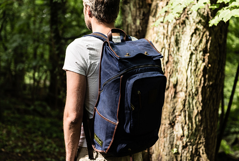 builford Roll Top Safari Backpack